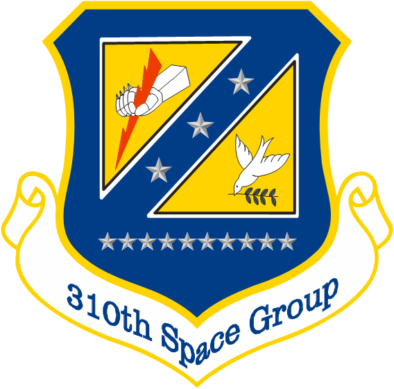 310th Space Group Insignia