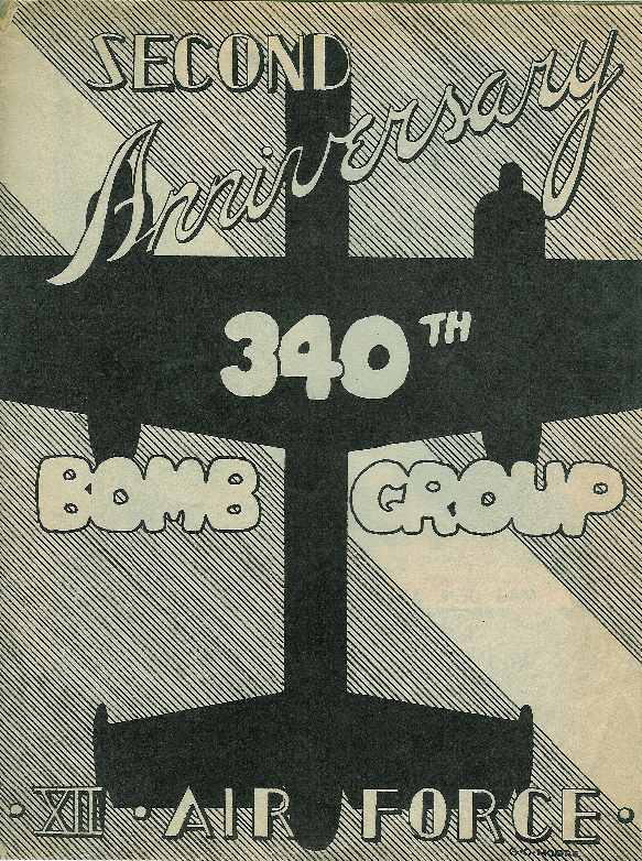 Second Anniversary, 340th Bomb Group, XII Air Force
