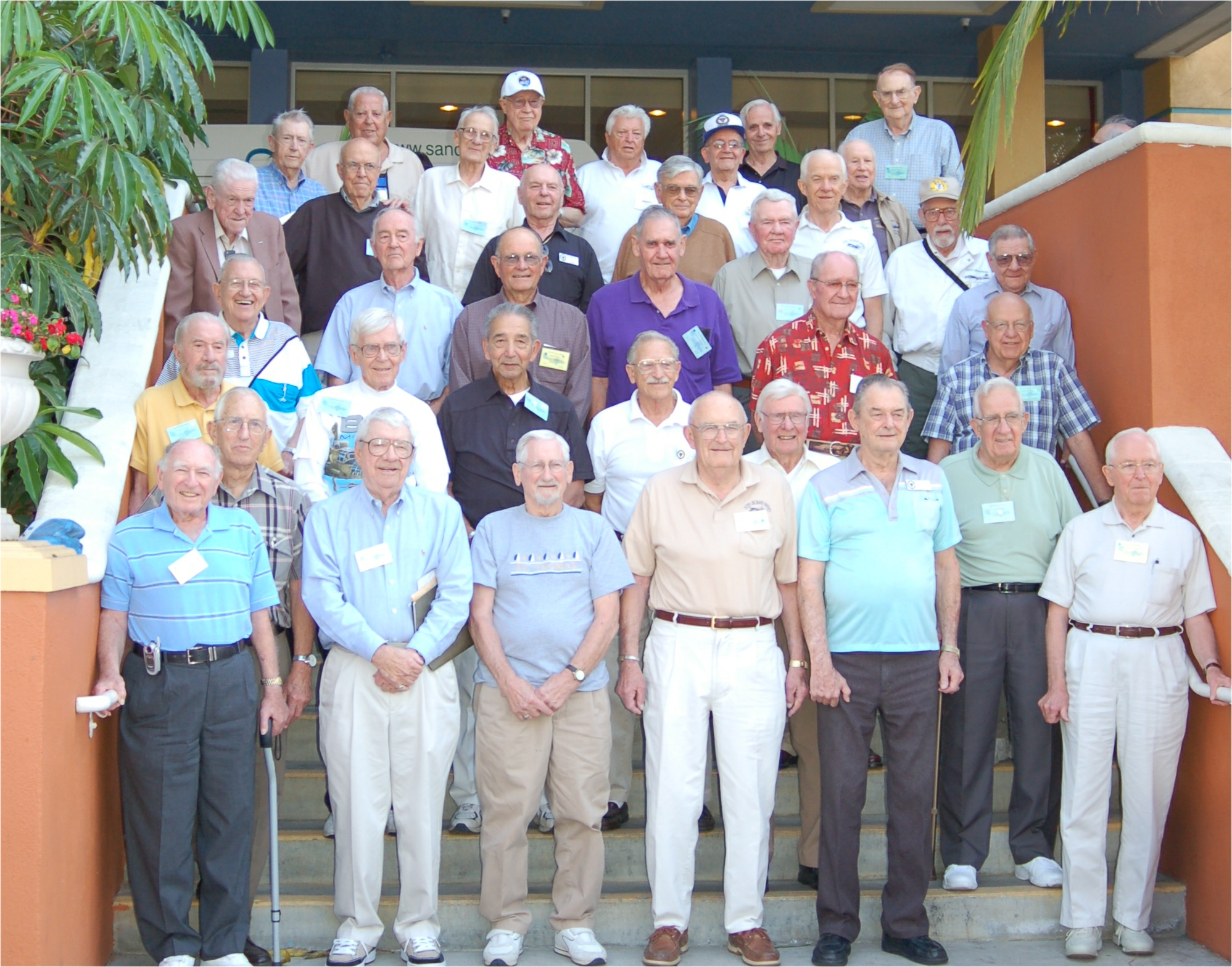 Men of the 57th Bomb Wing - San Diego 2007